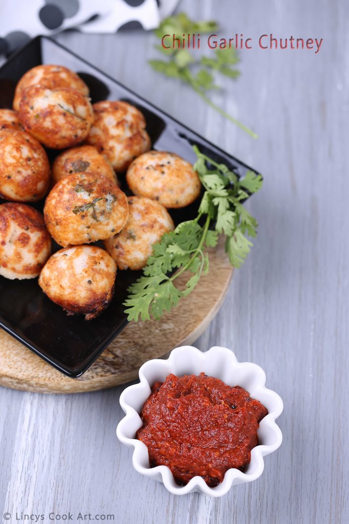Spicy Garlic Chutney recipe