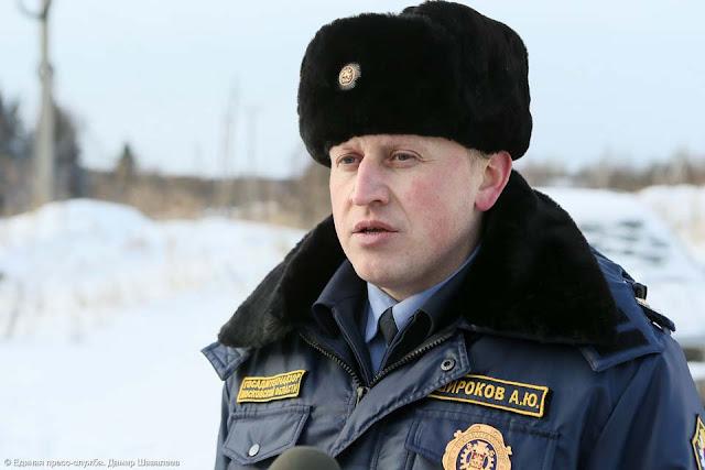 Представитель территориального отдела № 4 Госамтехнадзора Алексей Широков. Сергиев Посад