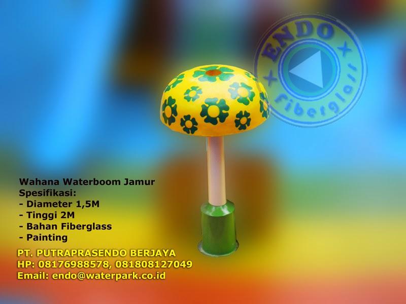 wahana waterpark jamur air