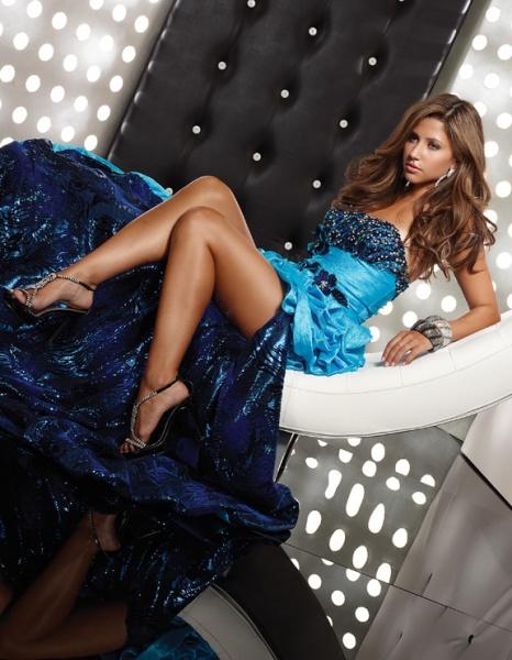 1377ddb19b5 Prom Dress 2011 Trend  1  High Low Hem Dress