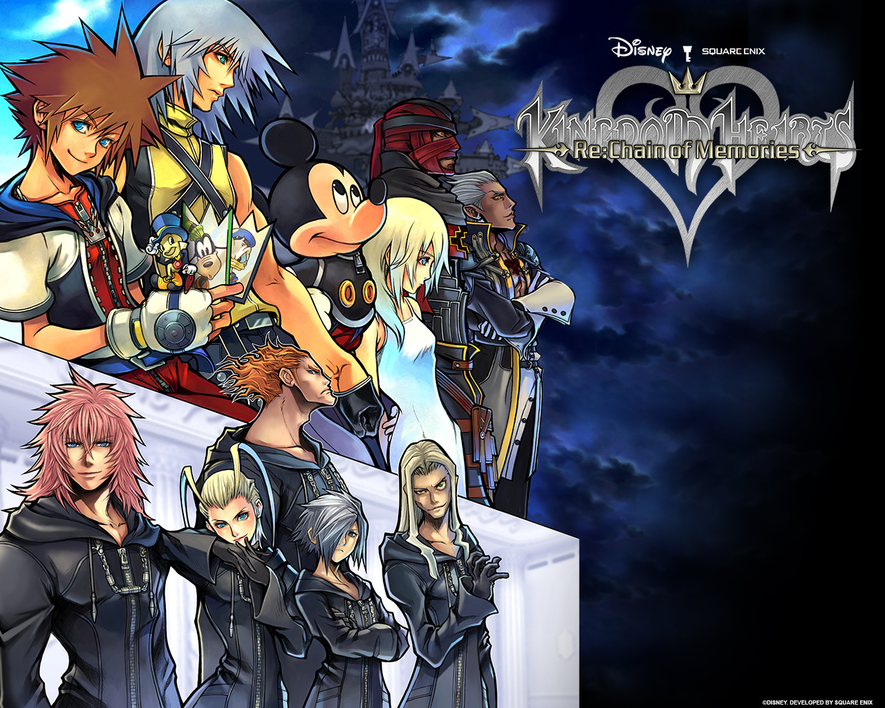 kingdom Heart HD & Widescreen Wallpaper 0.386937870604632