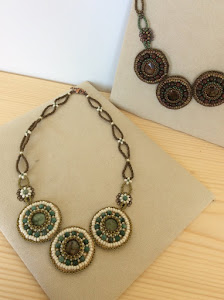 Beads Embroidery Necklace