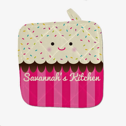 http://www.psychobabyonline.com/cart/8928/112316/Freshly-Baked-Cupcake-Personalized-Pot-Holder/