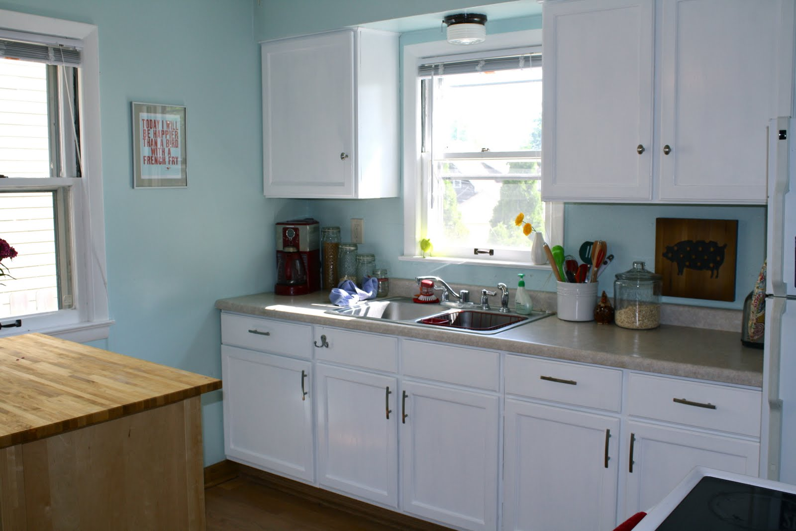 what i\'m loving today . . .: Our Kitchen: Before & After