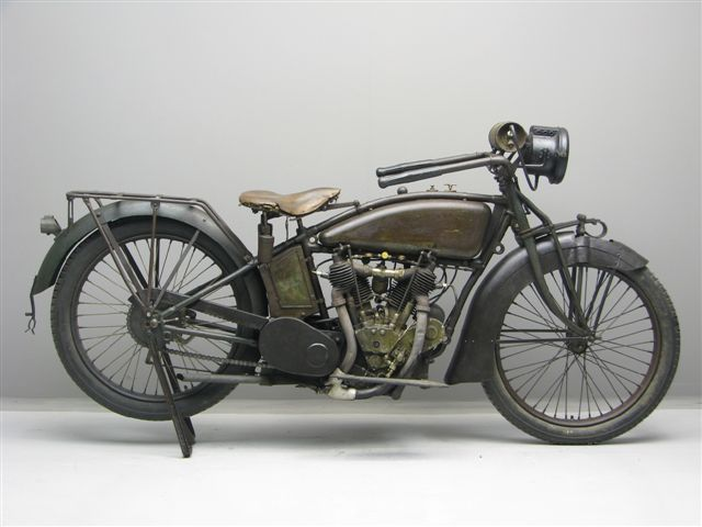 1917 Excelsior X V-Twin Motorcycle
