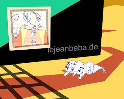 #kreativnotiz Der Dreierling auf Schloß Graf Knurbelschoff