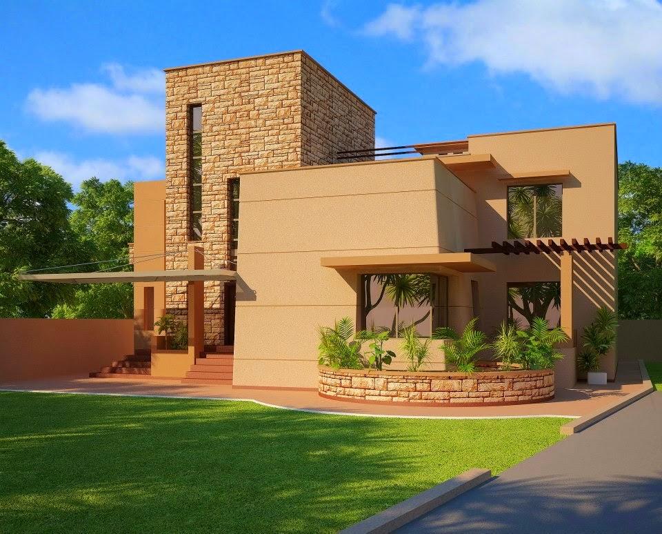 3d front for Home design ideas pakistan