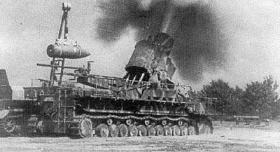 mortir jerman perang dunia