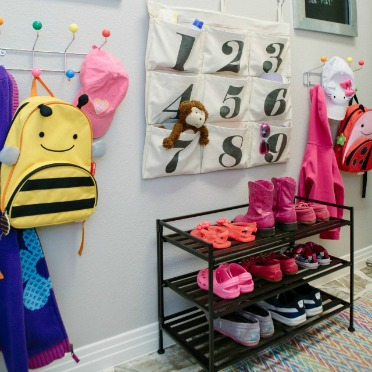 Create a mudroom command center