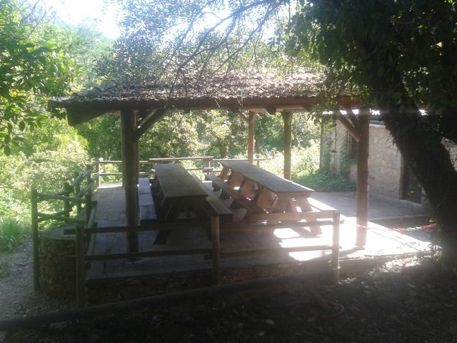 Parque de Merendas da Quinta do Barco coberto