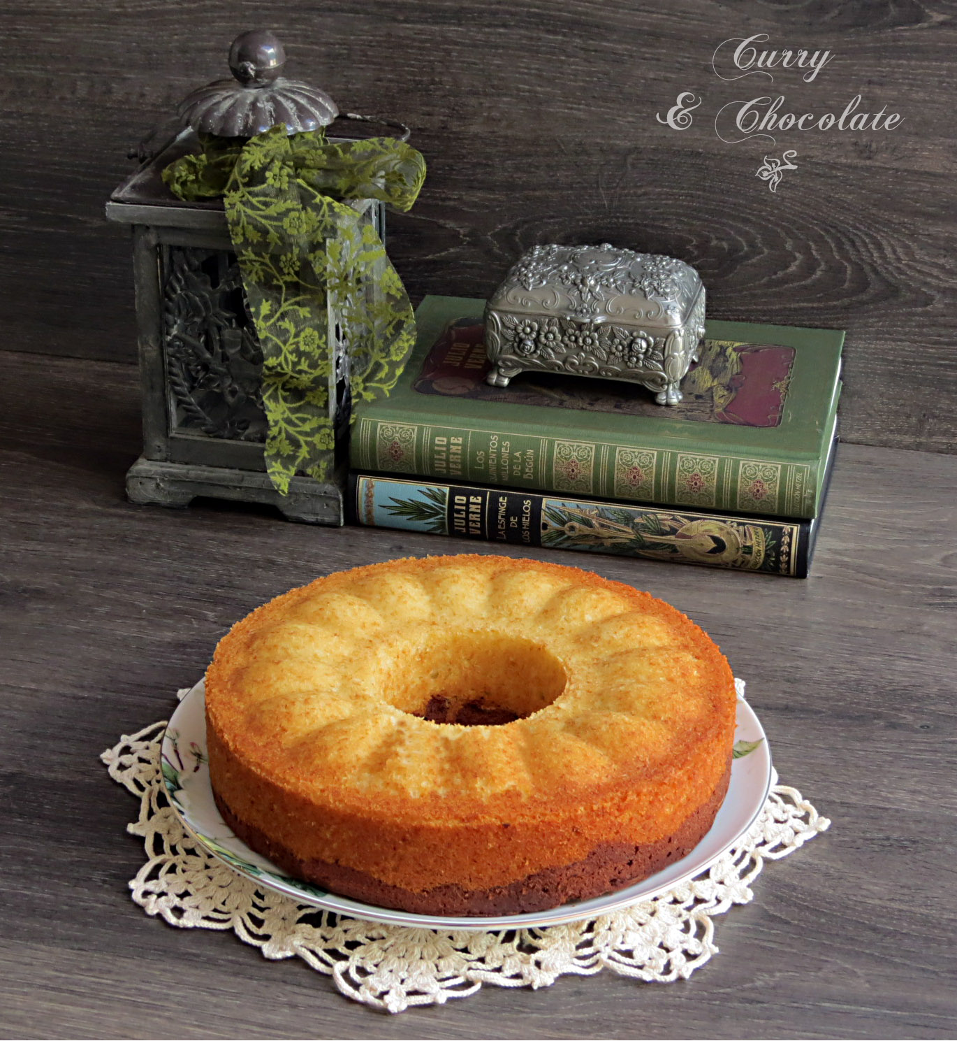 Bizcocho de mascarpone y chocolate – Mascarpone and chocolate bundt cake