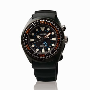 SEIKO PROSPEX KINETIC GMT DIVER