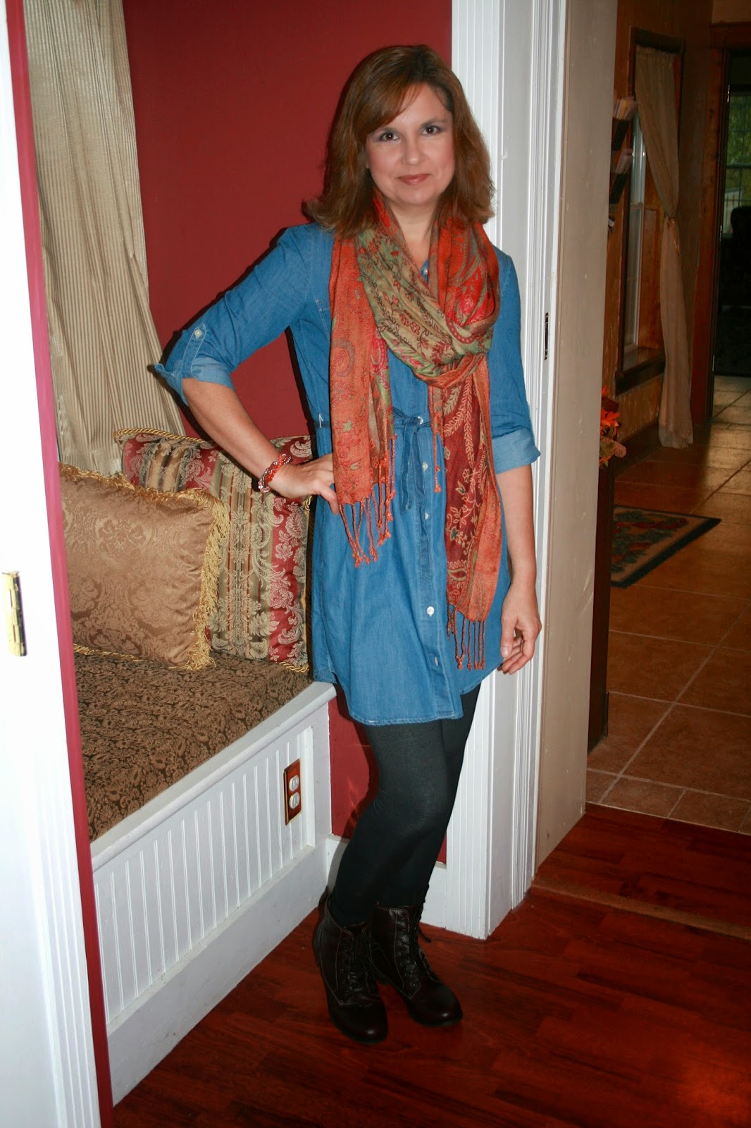 Amy's Creative Pursuits: Fashion Over Fifty: How to Wear a Chambray ...