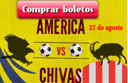 Comprar boletos América vs Chivas