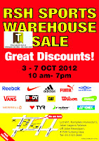 RSH Sports Warehouse Sale 2012
