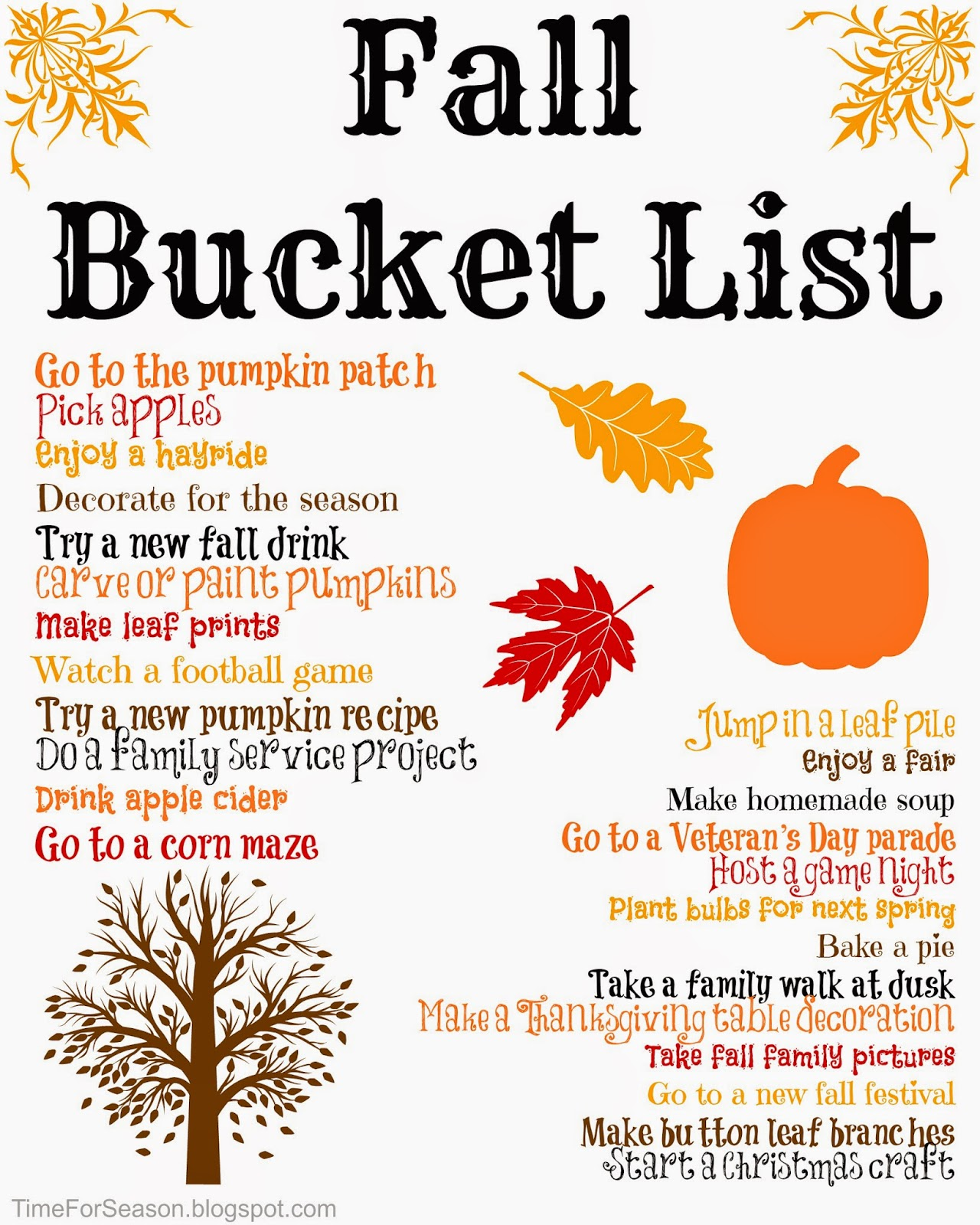 http://timeforseason.blogspot.com/2014/08/fall-bucket-list-printable-2014.html