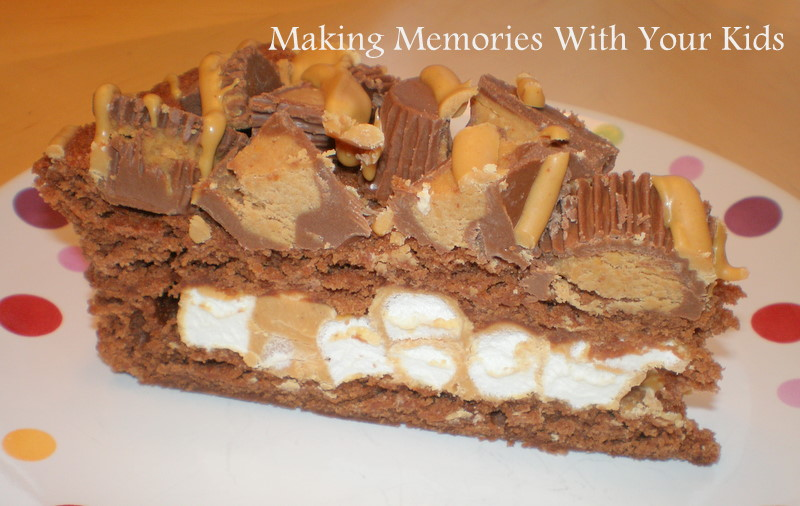 Pampered Chef's} Chocolate Peanut Butter Cup Torte - Making Memories ...