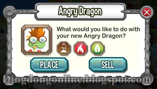 Cara mendapatkan Angry Dragon