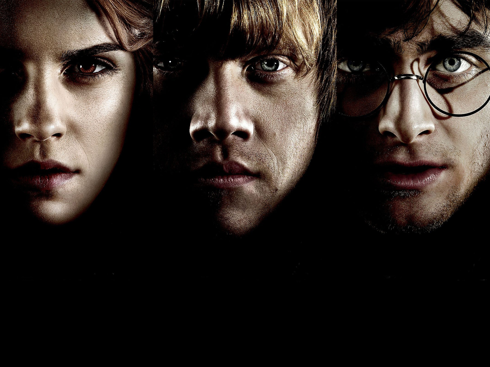 Harry Potter, Ronald Weasley, Hermione Granger