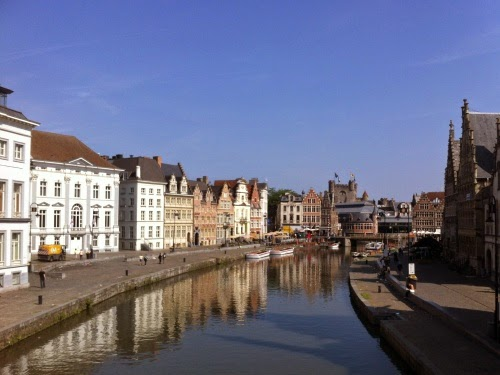Trip to Belgium: Day trip to Gent