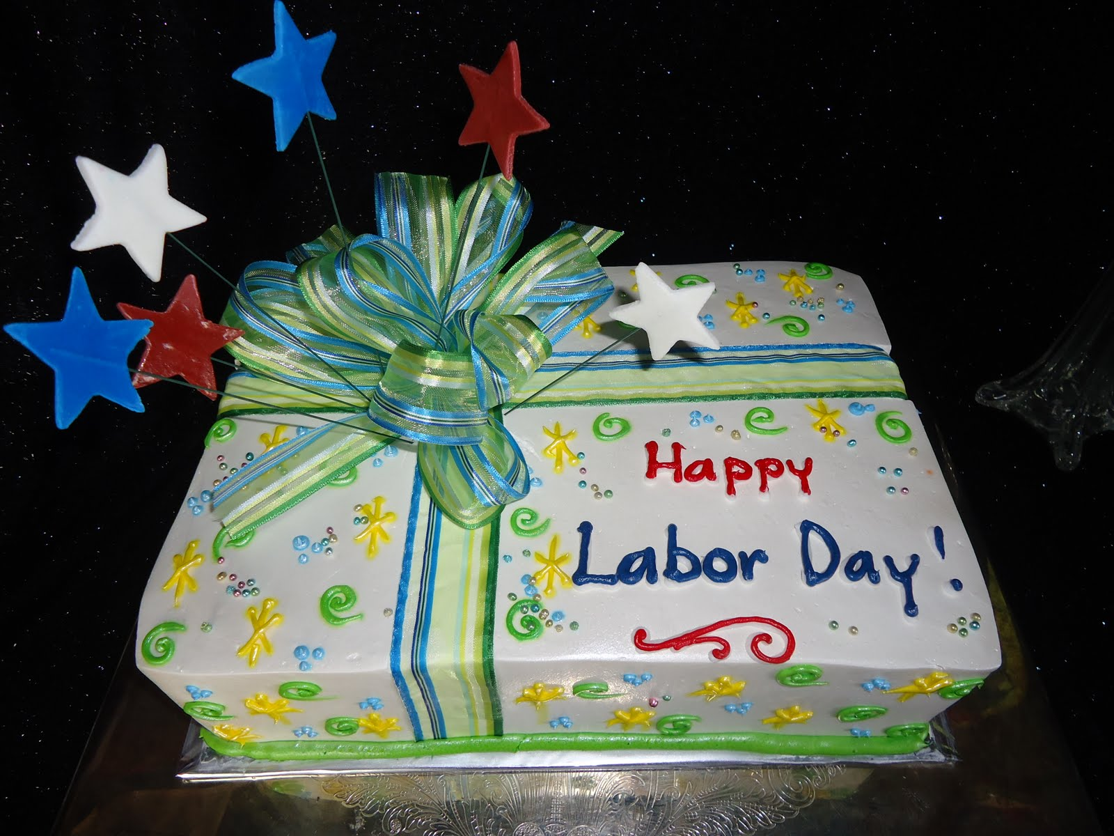 Cake Decorating Ideas For Labor Day : Labor Day Cake Ideas Images 1809 Bamboo Bakery 602 246 806