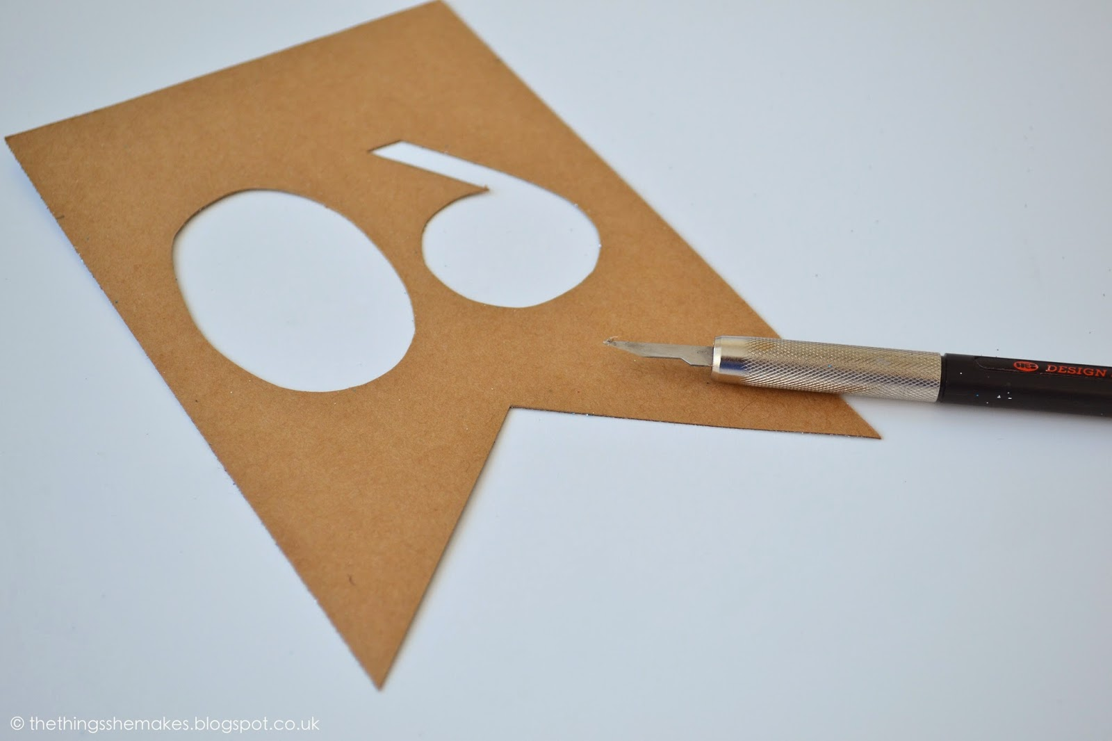 how to cut through thick paper