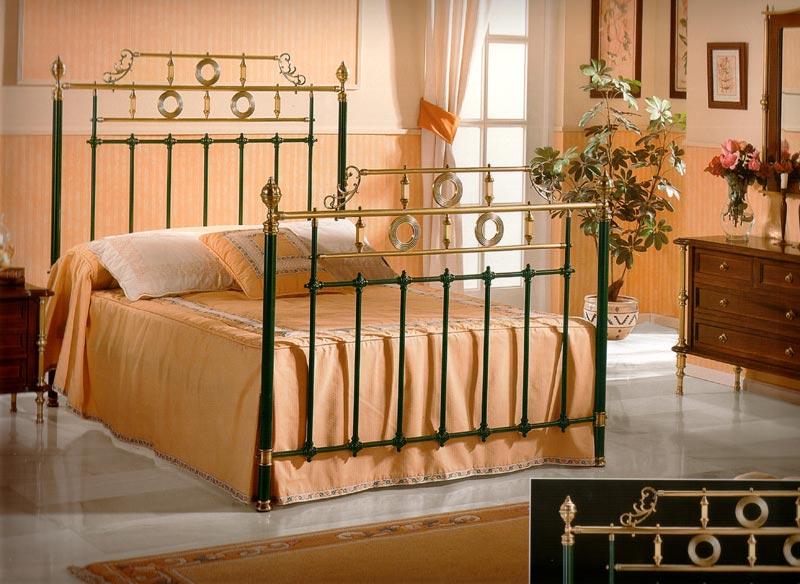 Muebles de forja camas forja l nea cl sica - Camas de forja antiguas ...