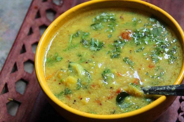 South Indian Paruppu Kuzhambu Recipe - Basic South Indian ...