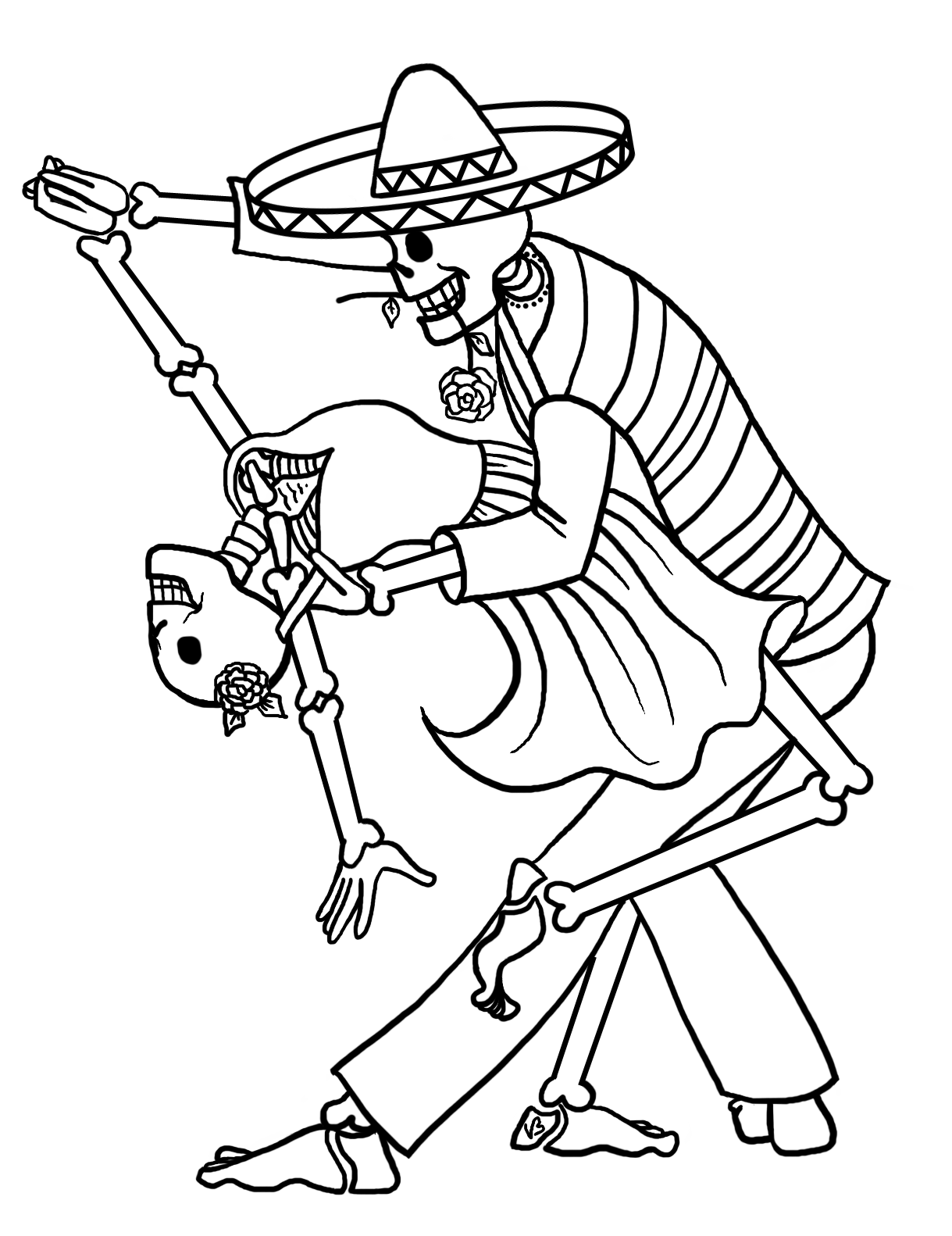 Танцы скелетов порно 25 фотография