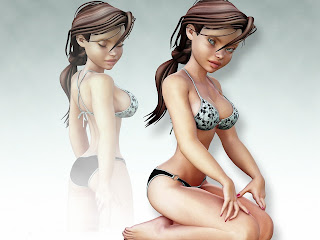 Images for girls 3d