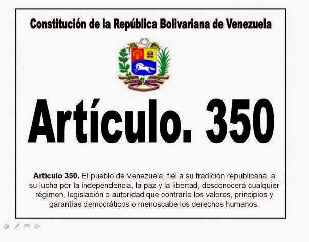 Artículo 350 de la Constitución