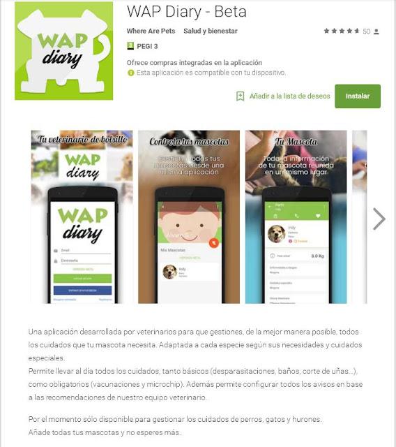 Antiguos alumnos de la Universidad de Murcia lanzan una aplicación móvil para gestionar los cuidados de las mascotas.