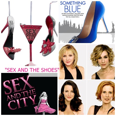 Congratulate, what shoes featured on sex and the city can suggest