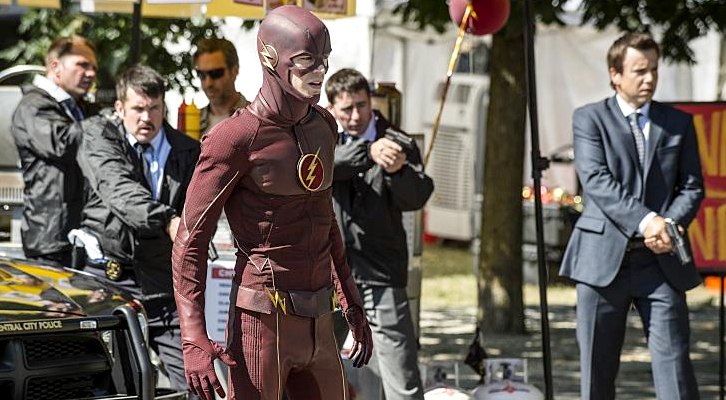 POLL : Favorite Scene in The Flash - The Man Who Saved Central City