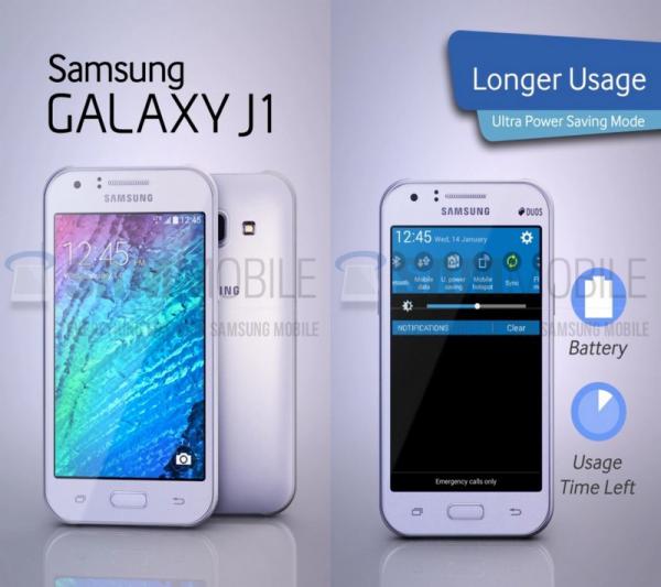 سامسونغ تكشف عن Galaxy J1 الجديد