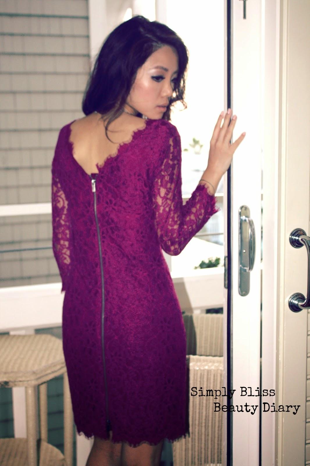 DVF 'Zarita' Lace Sheath Dress petite