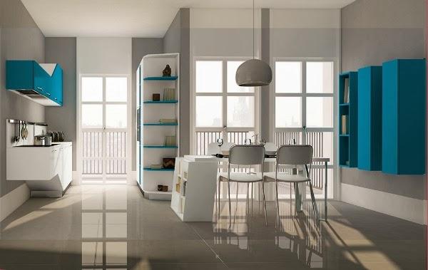 Consigli per la casa e l 39 arredamento mini appartamento o - Cucine soggiorno unico ambiente ...