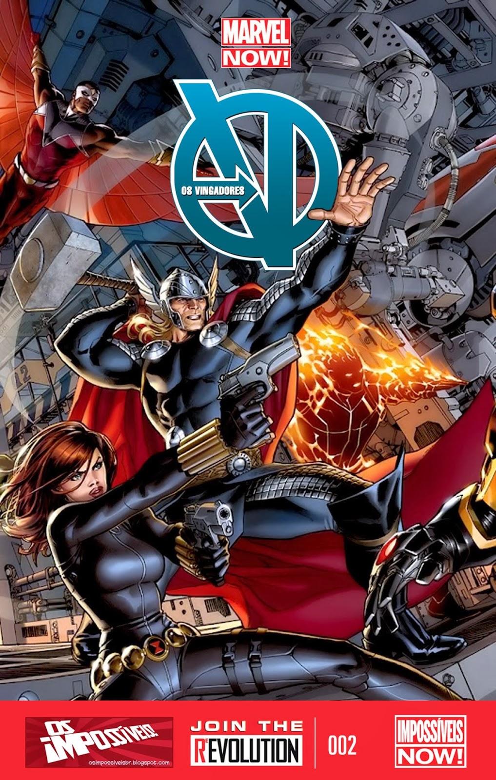 Nova Marvel! Vingadores v5 #2