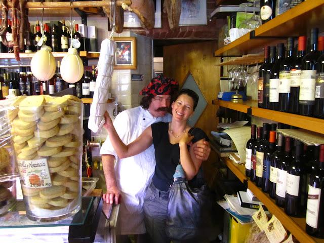 Me and Antonio in Siena, Italy.
