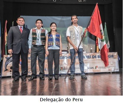 PERU GANA LA MEDALLA DE BRONCE EN LA VI OLIMPIADA IBERO-AMERICANA DE BIOLOGIA- PORTUGAL 2012
