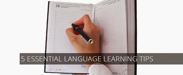 5 essential language learning tips