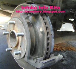 Rem Cakram disk brake Toyota Innova