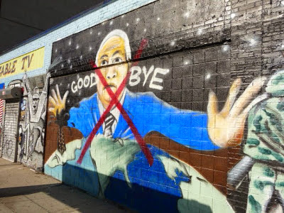 Apparently RCN Officials Are Still Pissed At Chico For His Unauthorized Obama McCain Murals Back In 2008 Finally Had Them Painted Over 2010