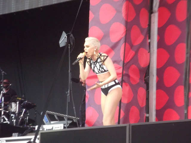 Jessie J Western Park V festival 2013