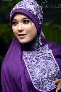 Saqina Salma Rafiqa - Ungu Tua (Toko Jilbab dan Busana Muslimah Terbaru)