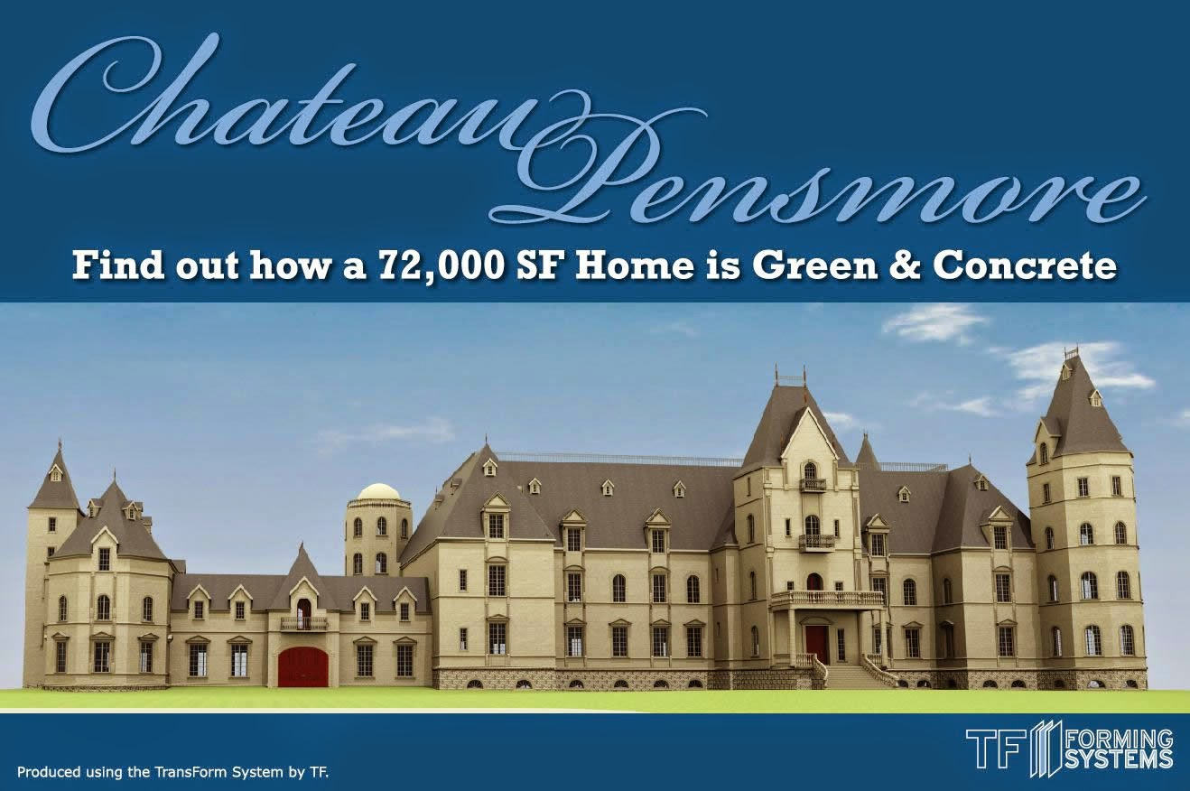 Multimillionaire builds a 72 000 square foot mansion in for Pensmore mansion