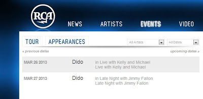 dido appearances late night jimmy fallon live kelly michael