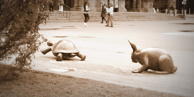 Tortoise and Hare Copley Square