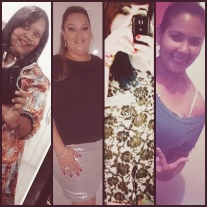 Larissa Martins, Heloisa Gomes Dias, Ana Carolina e Kelly Santos, de Uberlândia
