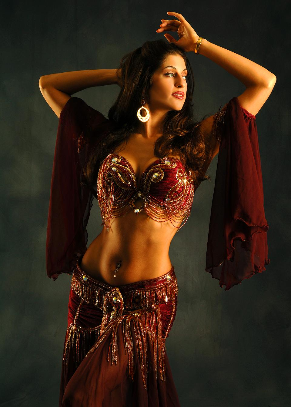 image Exotic and sensual dancer